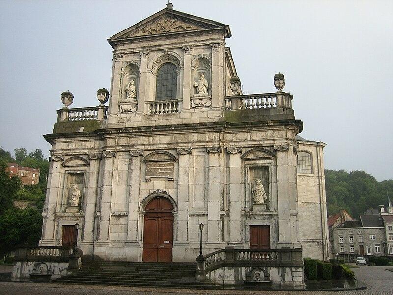 The Sainte Begge collegiate church in Andenne, Belgium.
