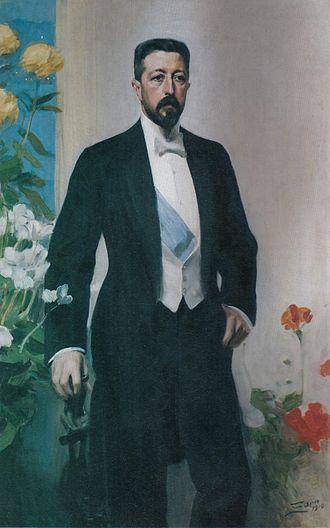 Prince Eugen, Duke of Närke - The Duke in 1910, by Anders Zorn