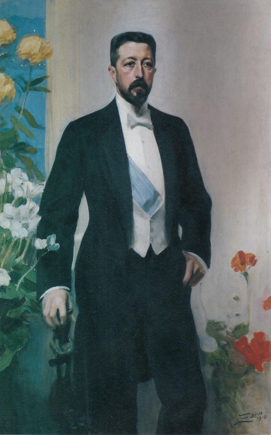 Anders Zorn - Prins Eugen 1910