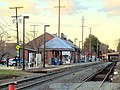 Andover station from Pearson Street, March 2016.JPG
