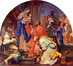 André Gonçalves (painter) - Adoration of the Magi  (National Museum Machado de Castro)