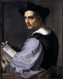 Andrea del Sarto - Portrait of a Young Man - WGA0381