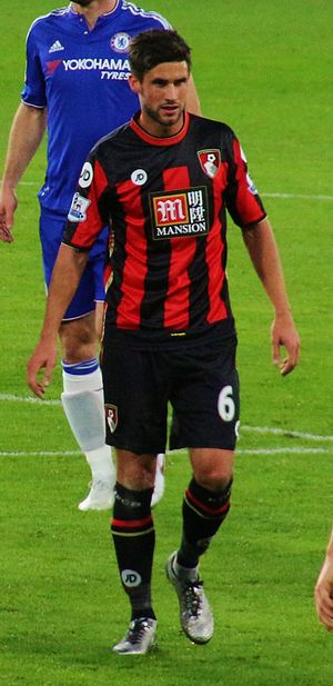 Andrew Surman - Surman playing for Bournemouth in 2015