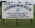 Andrewsfield Flying Club Sign, Great Saling, Essex - geograph.org.uk - 1355641.jpg
