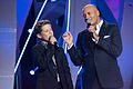 Andrey Boyko and Igor Krutoy at Christmas Song of the Year 2015.jpg