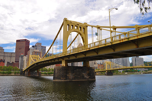 """Did you know that Pittsburgh is home to 446 bridges? It's officially the city with the most bridges in the world, with three more than former world leader, Venice, Italy. It's no wonder Pittsburgh has been dubbed """"The City of Bridges"""".Click over for Carpe Travel's list of 10 fun things to do in #Pittsburgh with kids."""