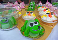 Animal-shaped cupcakes at Gardiner, NY, cupcake festival.jpg
