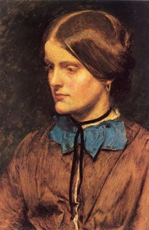 Annie Miller - Annie Miller, painted by Millais