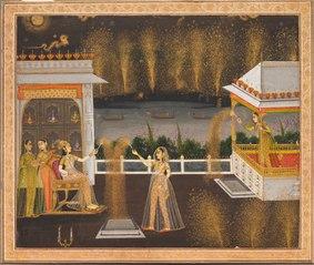 Ladies Celebrating Diwali