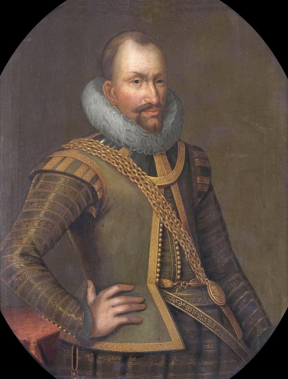 Anonymous Portrait of Gerard Reynst circa 1650