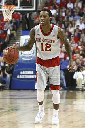 Anthony Barber (basketball) - Barber with NC State