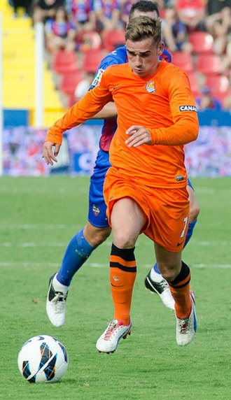 Antoine Griezmann - Griezmann playing for Real Sociedad in 2012