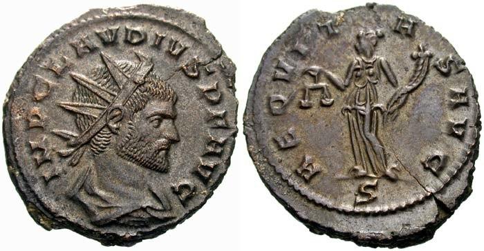 Antoninianus Claudius II-RIC 0137