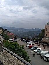 Aparcament de Montserrat, Montserrat, Catalunya.jpg