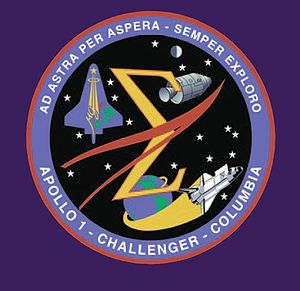 Memorial Emblem, Apollo 1, Challenger {Space_S...