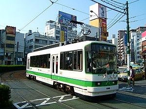 Toei 8500 series - 8500 series number 8503 in November 2006