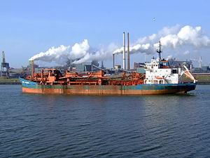 Arco Humber p5 at IJmuiden, Port of Amsterdam, Holland.JPG