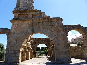 Patti, Sicily - Tindari, ruins of the ancient Roman basilica.