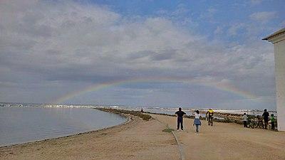 Arco iris en La Manga del Mar Menor.jpg