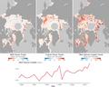 Arctic melt trends graph.png