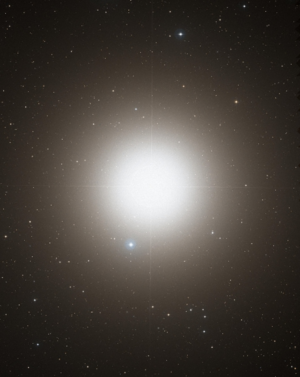 Arcturus - Optical image of Arcturus (DSS2 / MAST / STScI / NASA)
