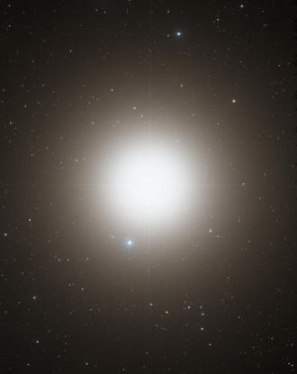 Arcturus - Optical image of Arcturus (DSS2 / MAST / STScI / NASA)