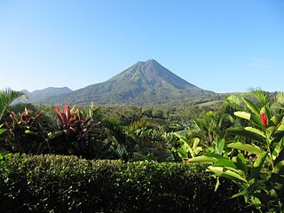Arenal Volcano mountain