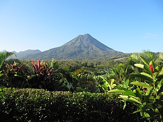 Arenal Volcano - Image: Arenal volcano. Costa Rica