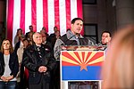 Arizona Governor Doug Ducey Speaks At Prescott Election Eve Rally (31917442788).jpg
