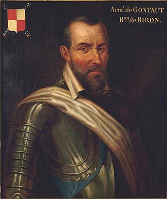 1592 in France - Armand de Gontaut, baron de Biron