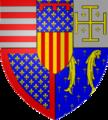 Armoiries René d'Anjou 1453.png