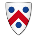Armorial Bearings of the BASKERVILLE family of Eardisley Castle, Herefordshire.png