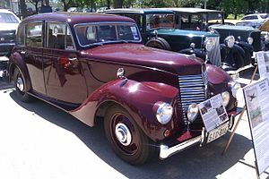 Armstrong Siddeley - Lancaster six-light saloon