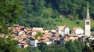 Arola - Panorama from Artò