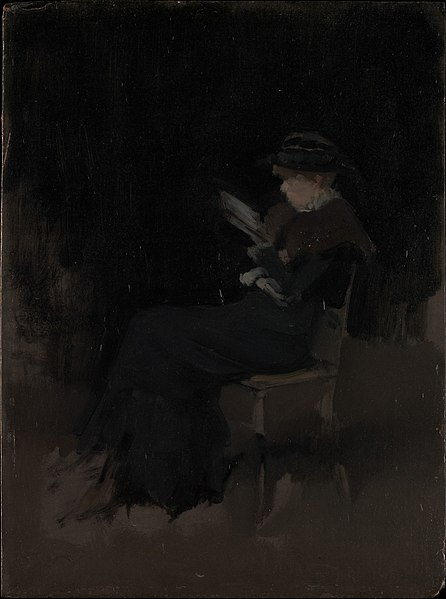 File:Arrangement in Black- Girl Reading MET DP361944.jpg