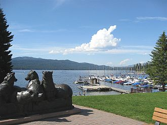 Valley County, Idaho - Payette Lake at McCall