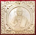 Arte carolingia del nord-italia, formelle con cristo, 790-810 dc ca.jpg