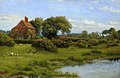 Arthur Hughes (1832-1915) - A Cottage with a Pond, at Burghfield, near Reading - 622752 - National Trust.jpg