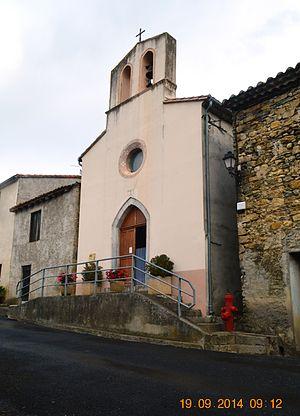 Artigues, Aude - The Church of Saint Nicolas