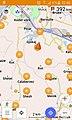 Artikuj Wikipedia ne OSMand me perdorim OpenStreetMap.jpg