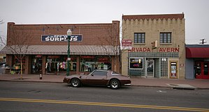 National Register of Historic Places listings in Jefferson County, Colorado - Image: Arvada Olde Town Arvada CO