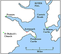 Arwenack Falmouth Cornwall Map.PNG