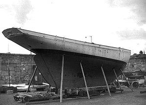 Asgard (yacht) - Asgard, 1960 Dublin Docks.