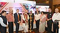 Ashwini Kumar Choubey lighting the lamp at the inauguration of the two-day National Dissemination Workshop on Anemia Mukt Bharat and Home-Based Young Child Care (HBYC), in New Delhi.JPG