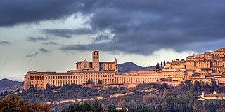 Assisi Comune in Umbria, Italy