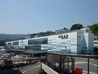 Atami Station Railway station in Atami, Shizuoka Prefecture, Japan