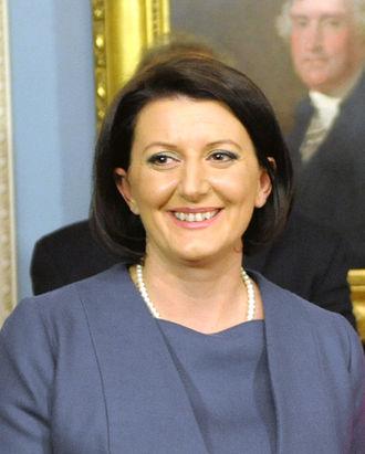 2011 Kosovan presidential election - Image: Atifete Jahjaga 2011