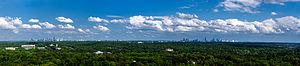 Atlanta tree canopy - Image: Atlanta Skyline, May 2013