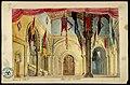 Atrio nel Castello, bozzetto di Girolamo Magnani per Macbeth (1874) - Archivio Storico Ricordi ICON000183.jpg
