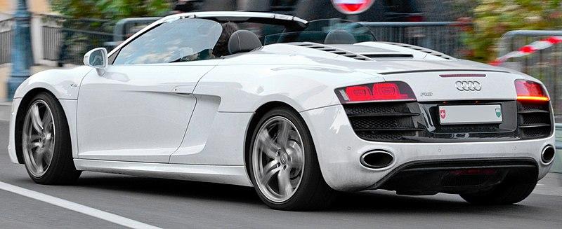 File:Audi R8 V10 Spyder - Flickr - Alexandre Prévot (6) (cropped).jpg